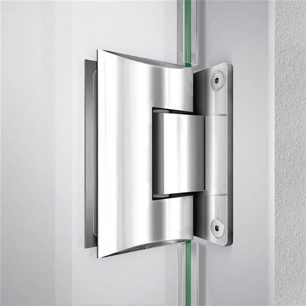 Porte de douche Unidoor-LS de DreamLine, 29 po x 72 po, chrome