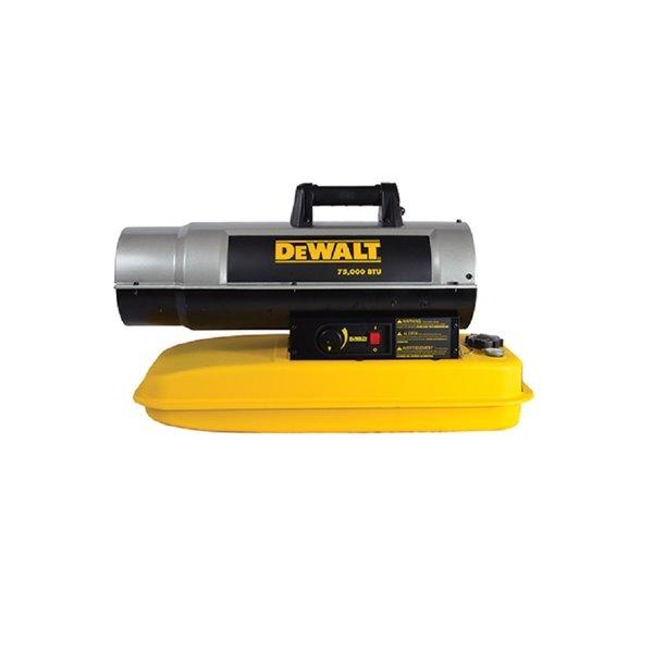 DEWALT Forced Air Kerosene Heater - 75,000 BTU