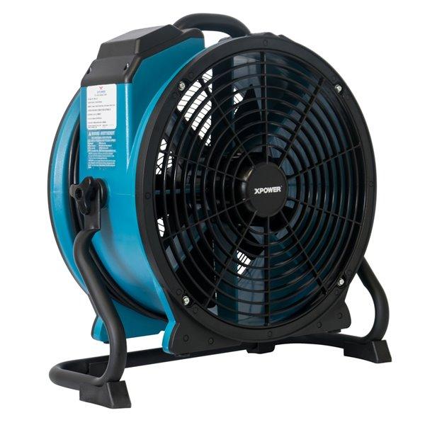 XPOWER FC-420 Multipurpose Pro Air Circulator Utility Fan - 18-in - Blue