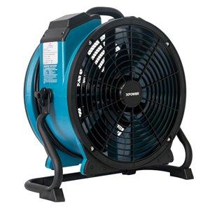 Ventilateur professionnel utilitaire FC-420 XPOWER, 14 po, bleu