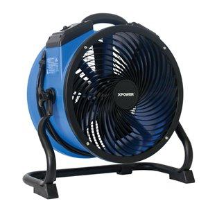 Ventilateur utilitaire FC-300 de XPOWER, 14 po, bleu