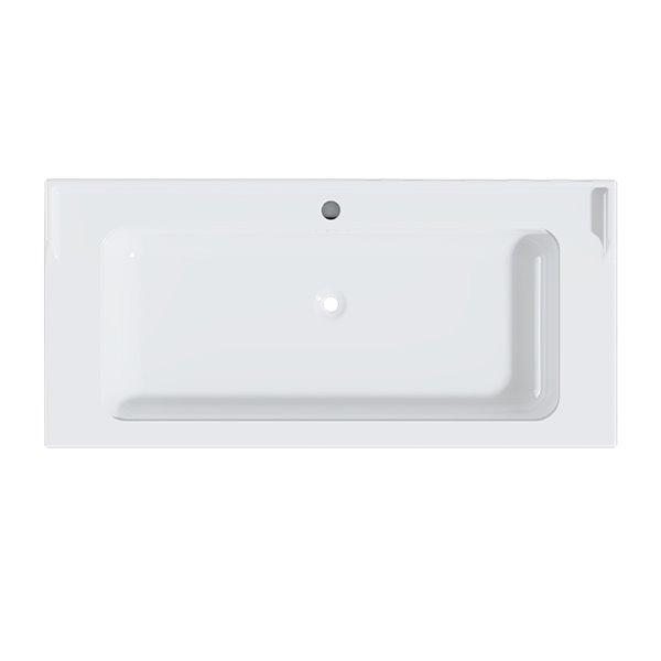 Cheviot Valarte Console Bathroom Sink - 20.87-in x 31.25-in - White