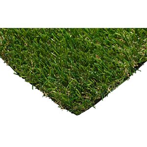 Trylawnturf Cruz Artificial Grass - 20-ft x 6-ft - Green