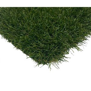 Trylawnturf LUX34 Synthetic Landscaping Turf - 20-ft x 6.6-ft - Green