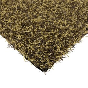 Trylawnturf Diamond Artificial Grass - 15-ft x 12-ft - Brown