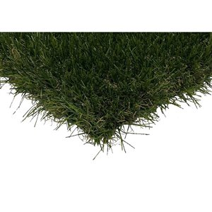 Trylawnturf Oasis35 Synthetic Landscaping Turf - 20-ft x 6.6-ft - Green