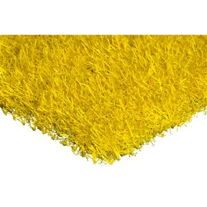 Trylawnturf Coloured Turf - 10-ft x 12-ft - Yellow