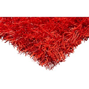 Trylawnturf Coloured Artificial Grass - 10-ft x 12-ft - Red
