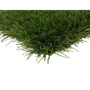 Trylawnturf Topaz Artificial Grass - 15-ft x 6-ft - Green