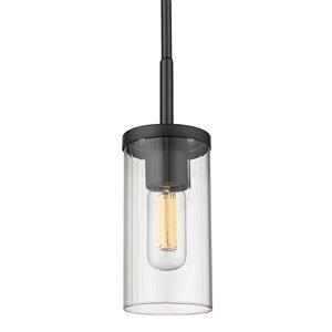Golden Lighting Winslett Mini Pendant Light - Black