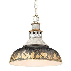 Golden Lighting Kinsley Large Pendant Light - Bronze