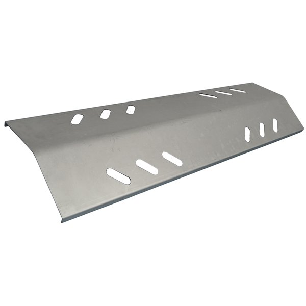 Music City Metals Stainless Steel Heat Plate for Members Mark Gas Grills - 16.13-in x 4.44-in