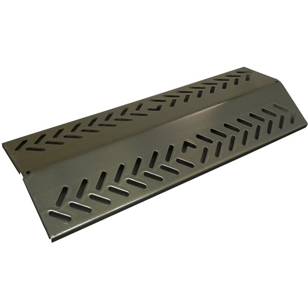 Music City Metals-inrcelain Steel Heat Plate for Broil-Mate Gas Grills - 22.05-in x 6.12-in