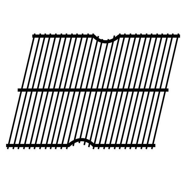 Music City Metals Steel Wire Briquette Grate for Olympia Brand Gas Grills - 11.13-in x 16.06-in