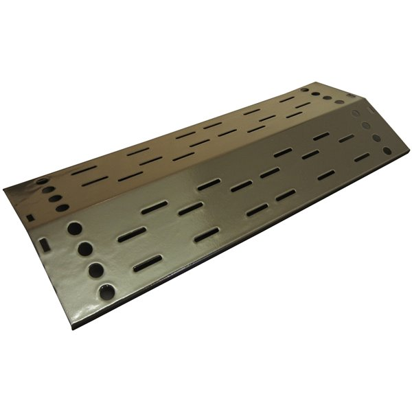 Music City Metals-inrcelain Steel Heat Plate for Grill Mate Brand Gas Grills - 22.25-in x 8.63-in