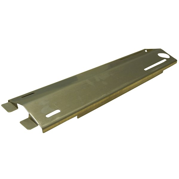 Music City Metals Stainless Steel Heat Plate for Patio Range Gas Grills - 16.38-in x 3.81-in