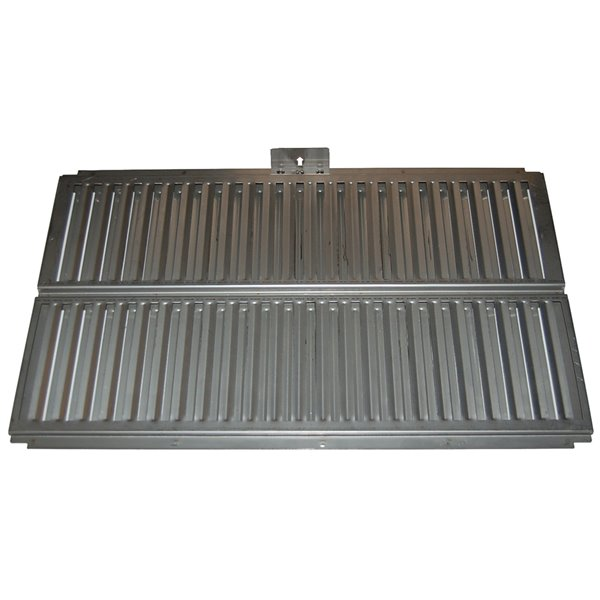 Music City Metals Stainless Steel Heat Plate for Ducane Brand Gas Grills - 14.88-in x 24.38