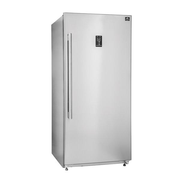 Forno combo réfrigérateur/congélateur vertical,  ouverture porte droite, 28 po