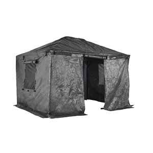 Sojag Winter Cover for Sun Shelters - Grey - 10-ft x 12-ft