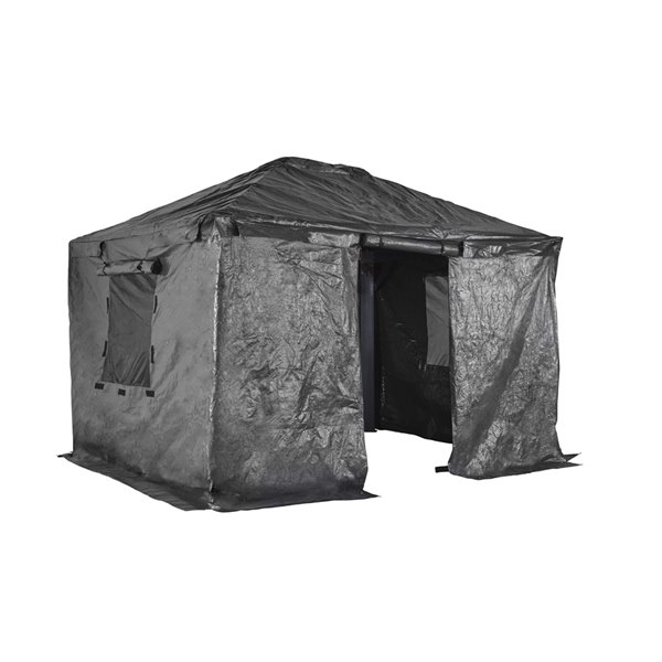 Sojag Winter Cover for Sun Shelters - Grey - 12-ft x 14-ft