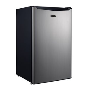 Sunbeam Stainless Steel Compact Fridge - 3.5 cu.ft