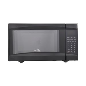 Willz Microwave - Black - 0.9 cu ft - 900 W