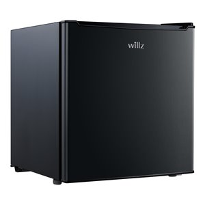 Willz Compact Fridge in Black - 1.7 cu.ft