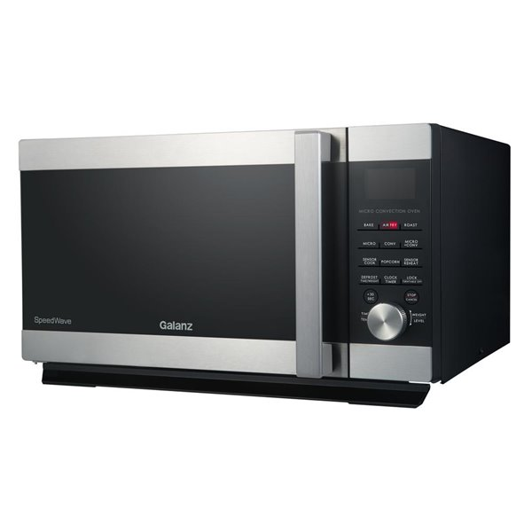 Galanz SpeedWave 3-in-1 Convection Oven Microwave in Stainless Steel - 1.6 cu ft - 1000 W