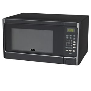Oster Microwave - Black - 1.1 cu ft - 900 W