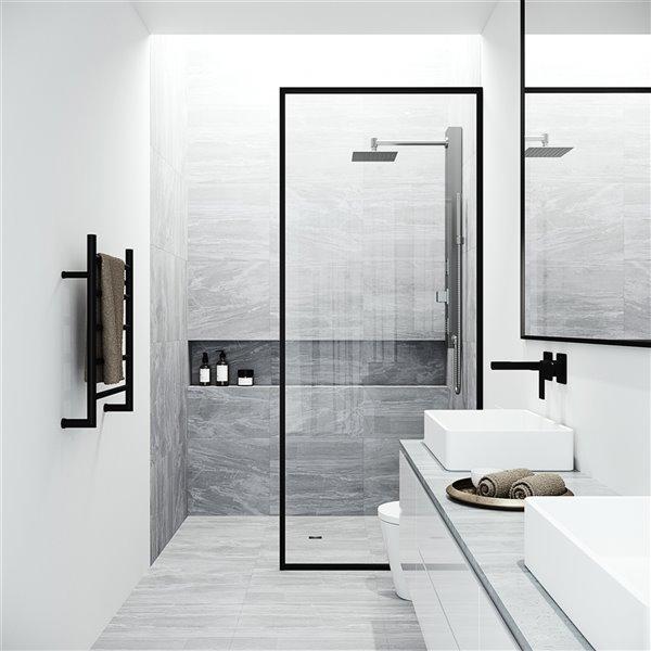 VIGO Orchid Shower Panel - Stainless Steel