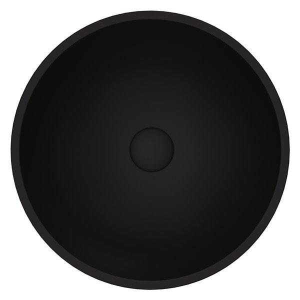VIGO Cavalli Matte Black Bathroom Sink -