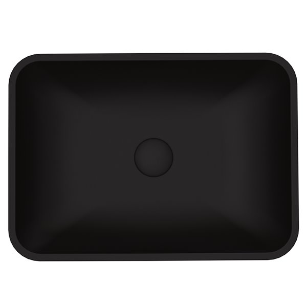 VIGO Sottile Matte Black Bathroom Sink -