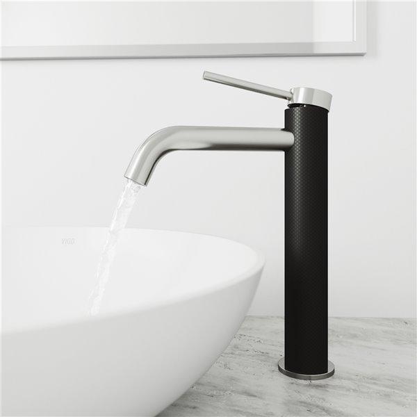 VIGO Lexington Bathroom Faucet - Brushed Nickel