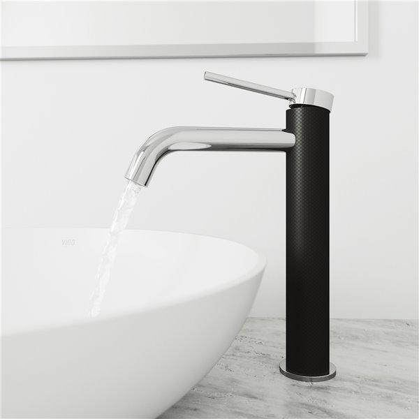 Robinet de salle de bains Lexington de VIGO, chrome
