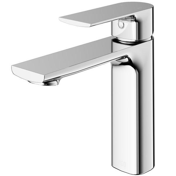 VIGO Davidson Single Hole Bathroom Faucet - Chrome