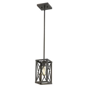 Acclaim Lighting Brooklyn Mini-Pendant Light - 1-Light - Oil-Rubbed Bronze