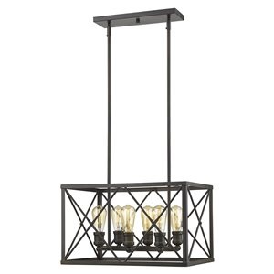 Acclaim Lighting Brooklyn Chandelier - 6-Light - Oil-Rubbed Bronze
