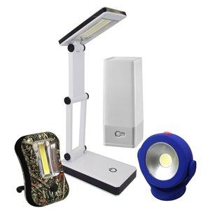 Lumière DEL sans fil de Acclaim Lighting, 4 modèles différents