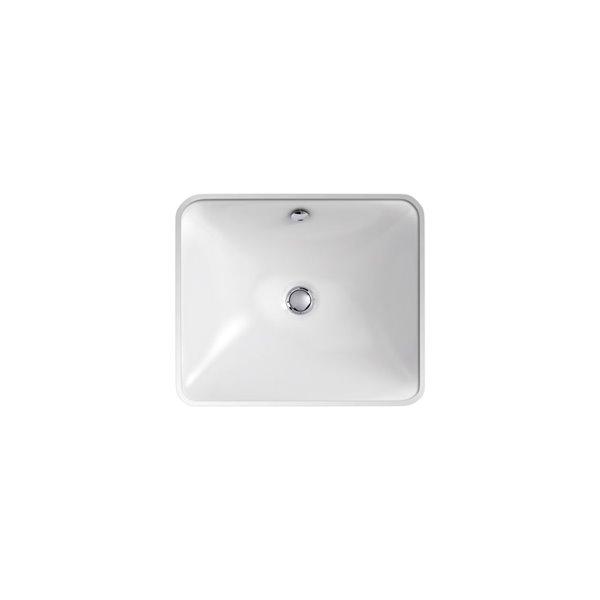 Lavabo de salle de bain encastré/en sous-surface Iron Plains de KOHLER