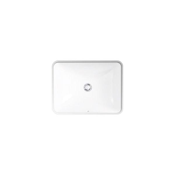 Lavabo rectangulaire en sous-surface, Caxton de KOHLER, 15 po, gris