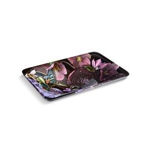 Lavabo en surface Carillon Wading Pool Dutchmaster de KOHLER floral minuit/blanc