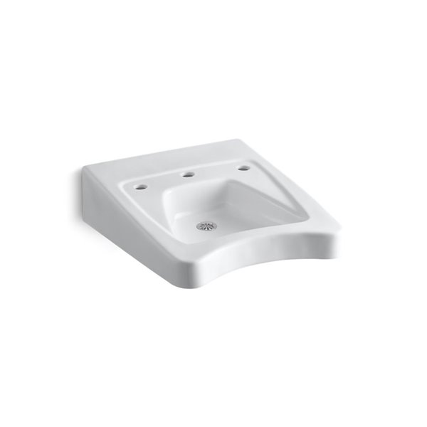 KOHLER Morningside Mounted Wheelchair Accessible Sink - 20-in x 27-in - White