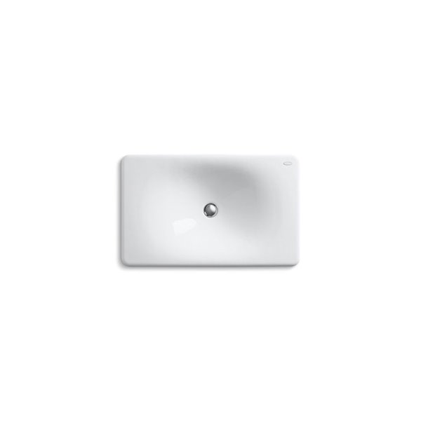 KOHLER Under-Mount Drop-In Bathroom Sink - 24-in - White