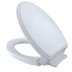 Siège et couvercle de toilette à fermeture en douceur de TOTO, coton blanc