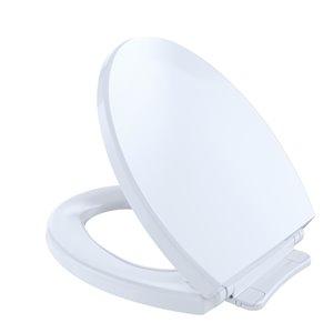 TOTO SoftClose Toilet Seat and Lid - Round - Cotton White