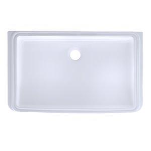 Lavabo encastrable rectangulaire de TOTO, 23,76 po, blanc
