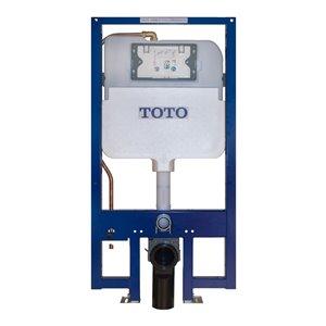 Système de réservoir de toilette mural DuoFit de TOTO, double chasse