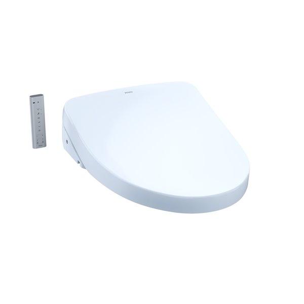 Toto TOTO Washlet Ewater+ Electronic Bidet Toilet Seat - Elongated - Cotton White 1060936
