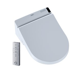 TOTO Washlet+ Electronic Bidet Toilet Seat - Cotton White