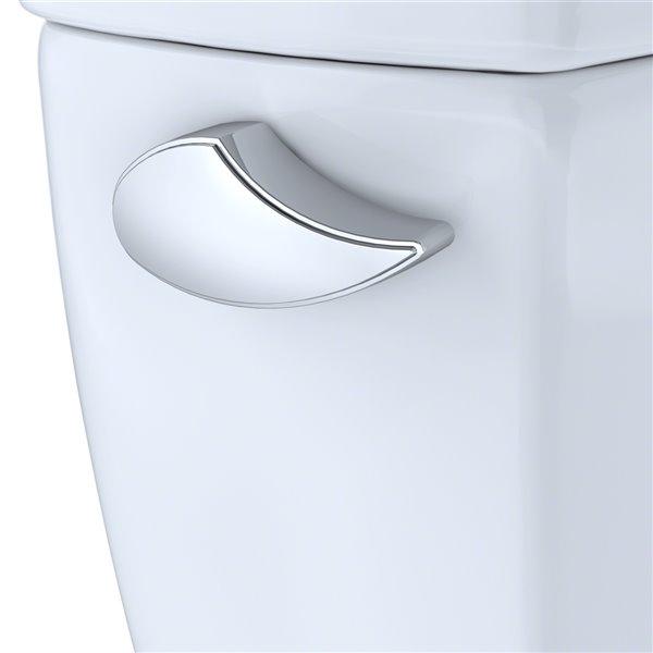 Réservoir de toilette isolé Eco Drake de TOTO, simple chasse, coton blanc